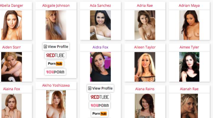 Alla scoperta di Pornstarbyface.com, il portale che lavora con riconoscimento facciale delle pornostar