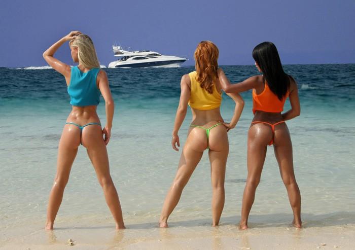 culi spettacolari in spiaggia