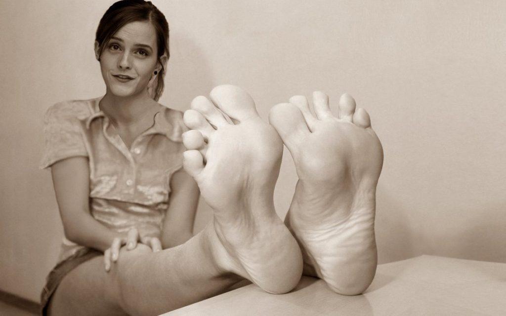 piedi Emma Watson
