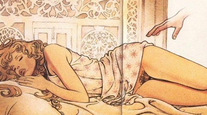 fumetto erotico manara