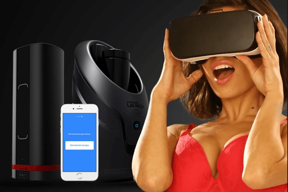 Pornhub presenta i sex toys interattivi per uomini collegati ai video porno