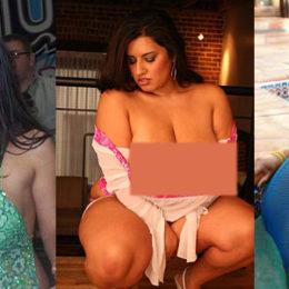 Le pornostar curvy più cliccate su internet